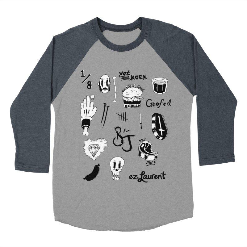 Flash Men's Baseball Triblend Longsleeve T-Shirt by ezlaurent's Artist Shop
