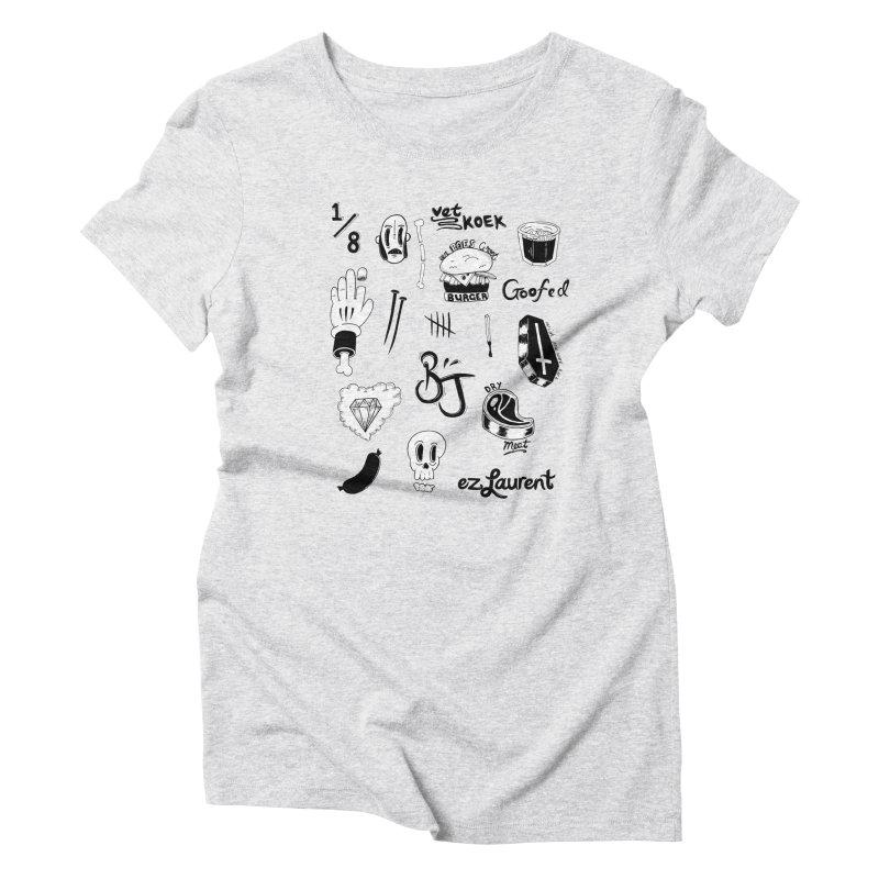 Flash Women's Triblend T-Shirt by ezlaurent's Artist Shop