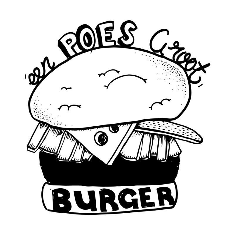 poes burger by ezlaurent's Artist Shop