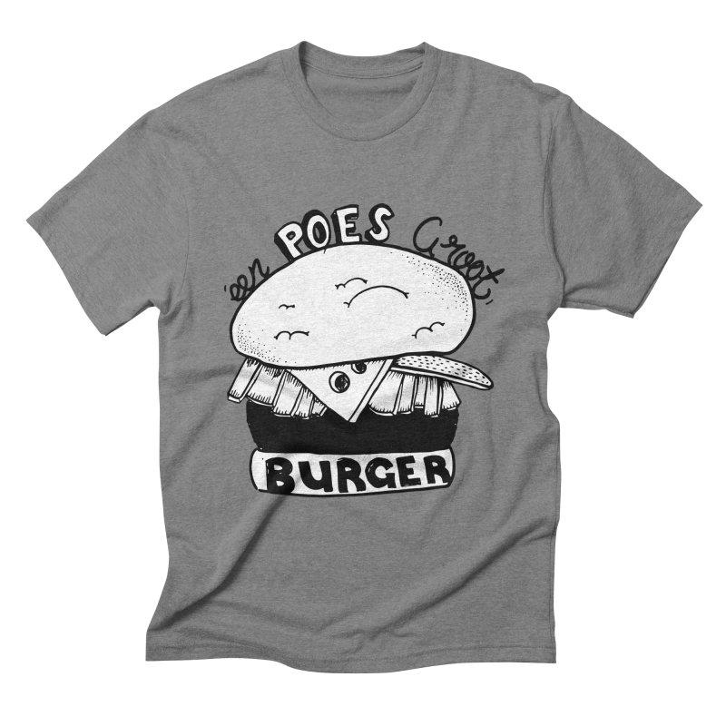 poes burger   by ezlaurent's Artist Shop