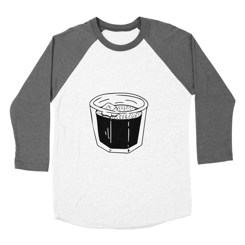 juice Men's Baseball Triblend T-Shirt by ezlaurent's Artist Shop