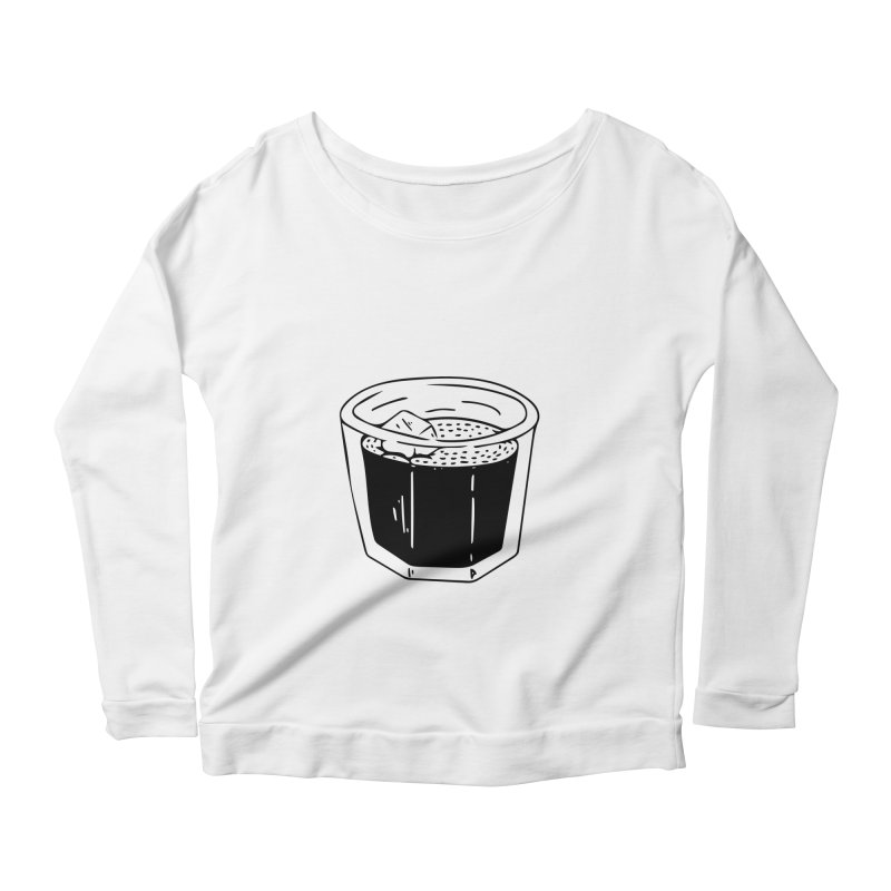 juice Women's Longsleeve Scoopneck  by ezlaurent's Artist Shop