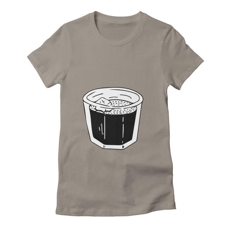 juice Women's Fitted T-Shirt by ezlaurent's Artist Shop