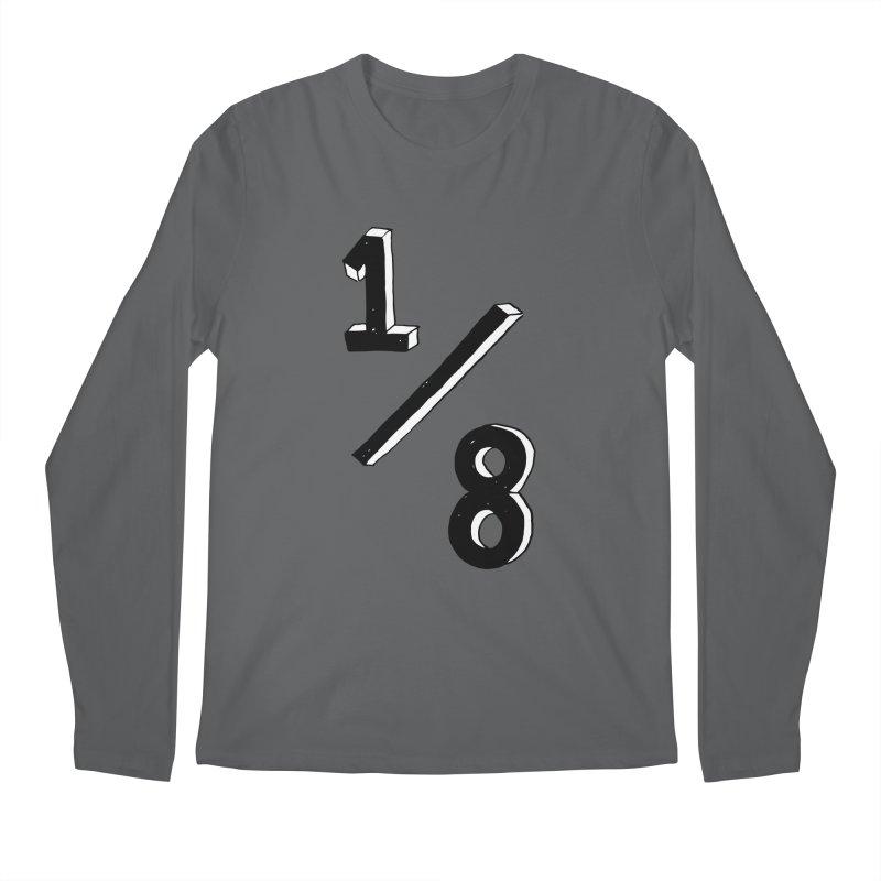 1/8 Men's Longsleeve T-Shirt by ezlaurent's Artist Shop