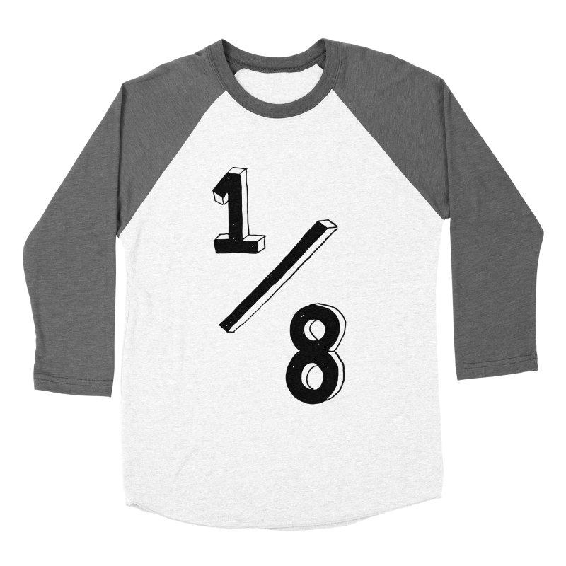1/8 Men's Baseball Triblend T-Shirt by ezlaurent's Artist Shop