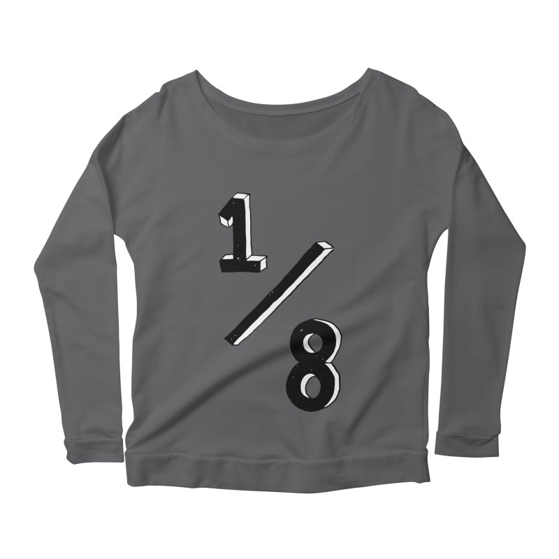 1/8 Women's Longsleeve Scoopneck  by ezlaurent's Artist Shop