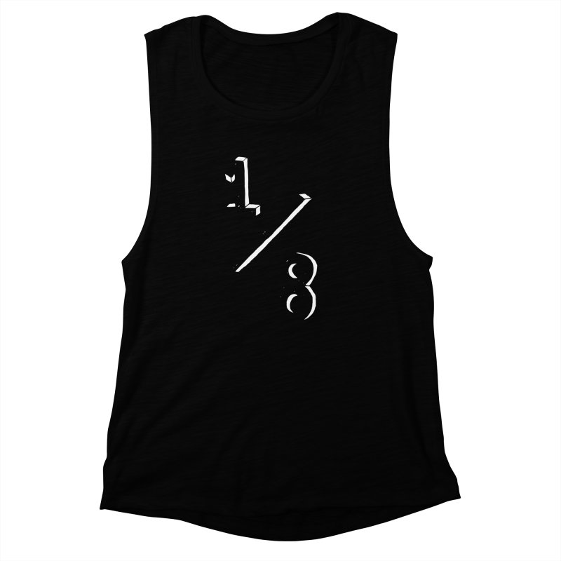 1/8 Women's Muscle Tank by ezlaurent's Artist Shop