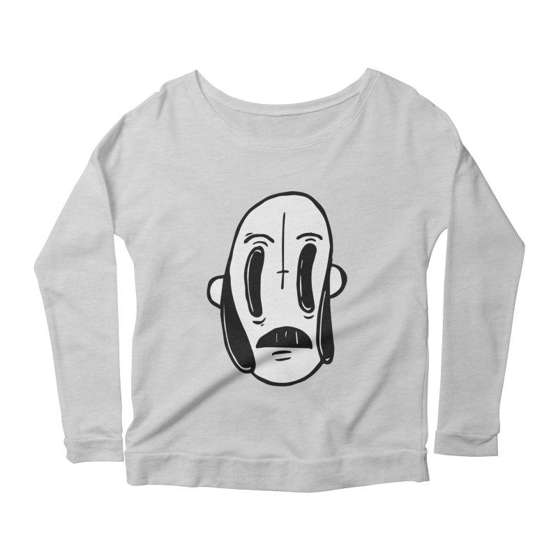 oom Women's Scoop Neck Longsleeve T-Shirt by ezlaurent's Artist Shop