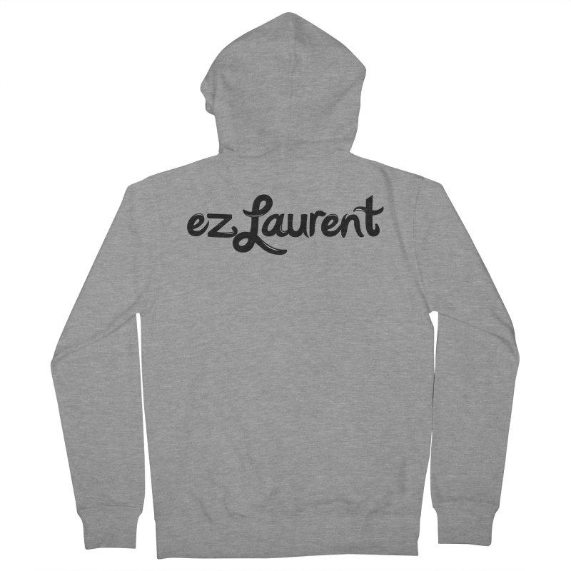ezlaurent Men's Zip-Up Hoody by ezlaurent's Artist Shop