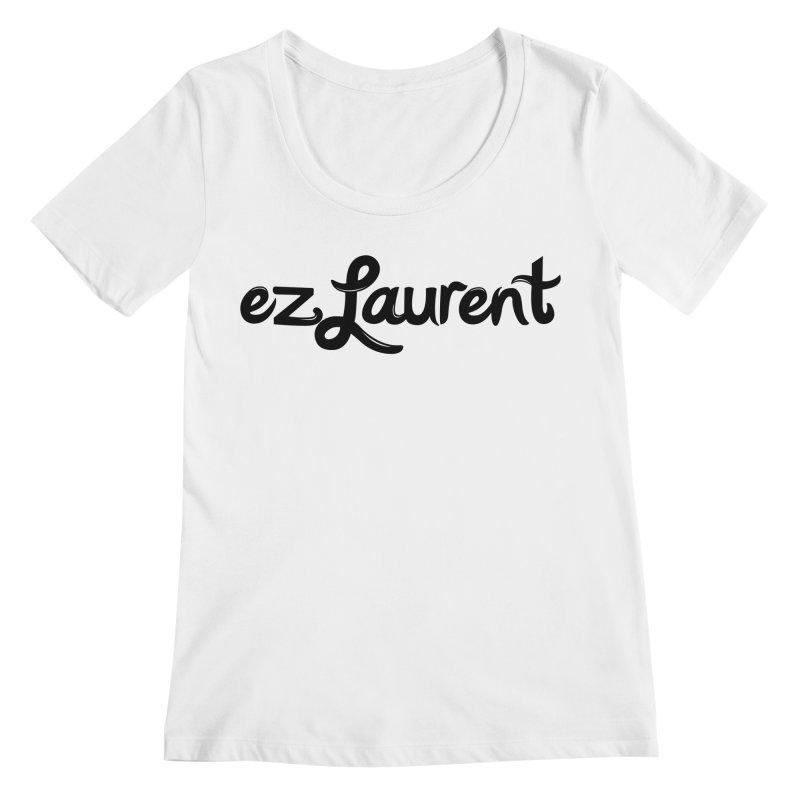 ezlaurent Women's Scoopneck by ezlaurent's Artist Shop