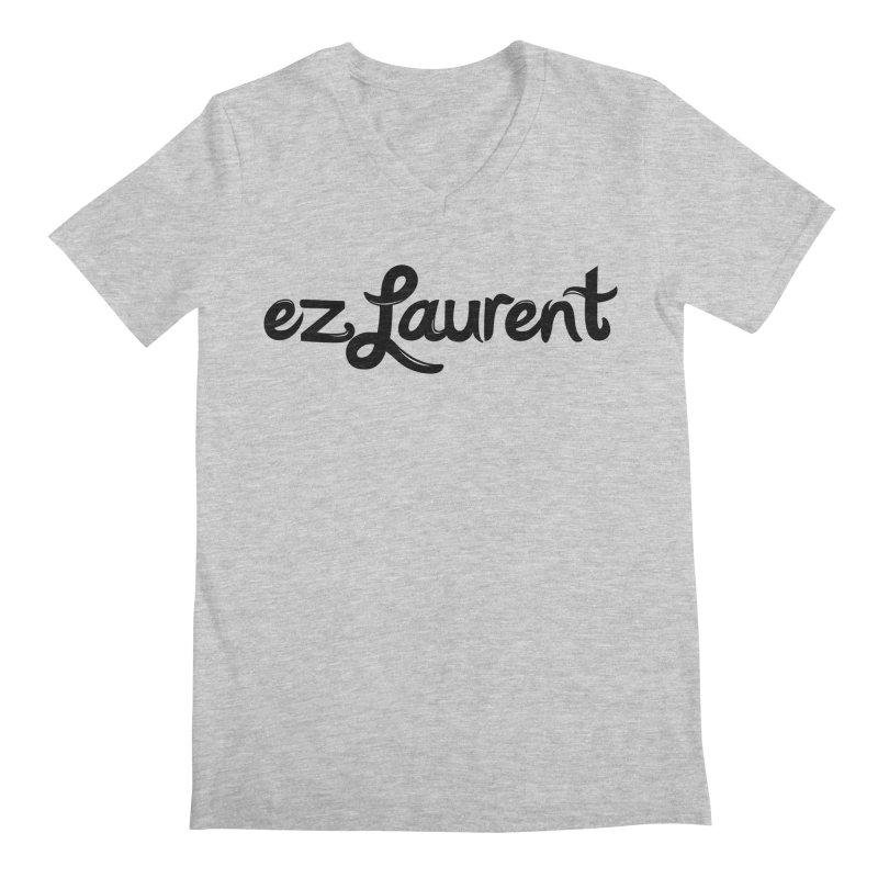 ezlaurent Men's V-Neck by ezlaurent's Artist Shop