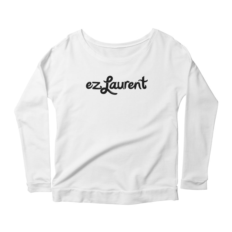 ezlaurent Women's Longsleeve Scoopneck  by ezlaurent's Artist Shop