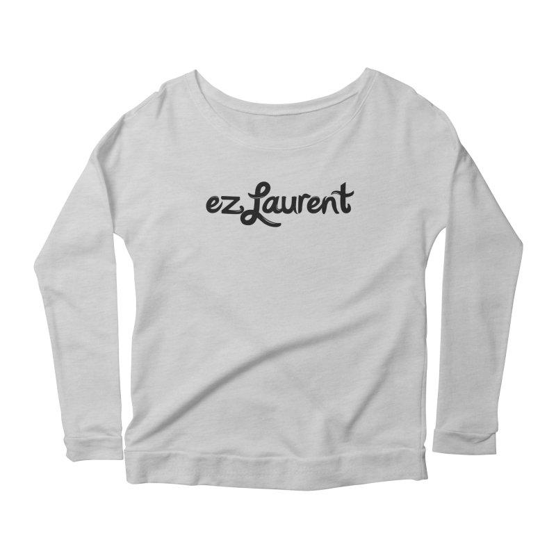 ezlaurent Women's Longsleeve Scoopneck  by ezlaurent's Artist Shop