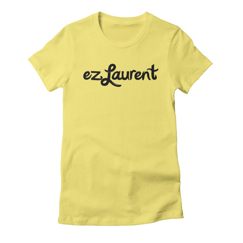 ezlaurent Women's Fitted T-Shirt by ezlaurent's Artist Shop