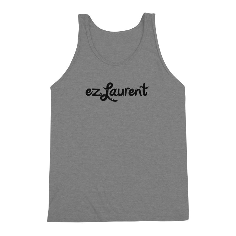 ezlaurent Men's Triblend Tank by ezlaurent's Artist Shop
