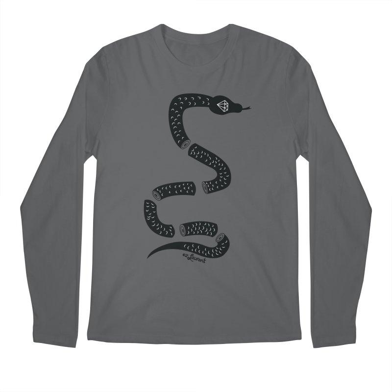 snake Men's Longsleeve T-Shirt by ezlaurent's Artist Shop