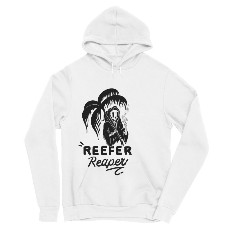 Reefer Reaper Women's Sponge Fleece Pullover Hoody by the ezlaurent show