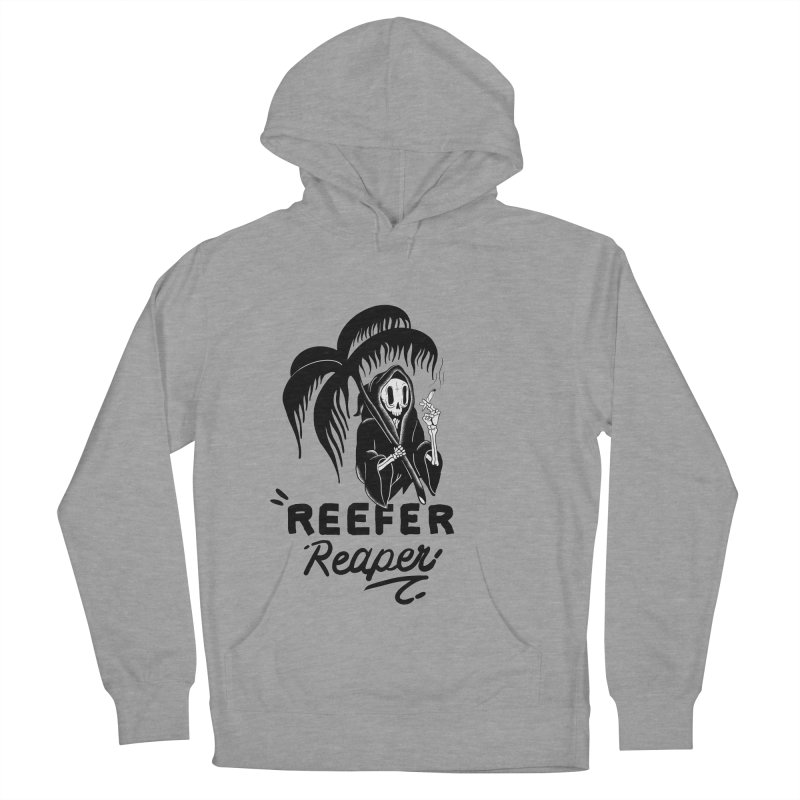 Reefer Reaper Men's French Terry Pullover Hoody by the ezlaurent show