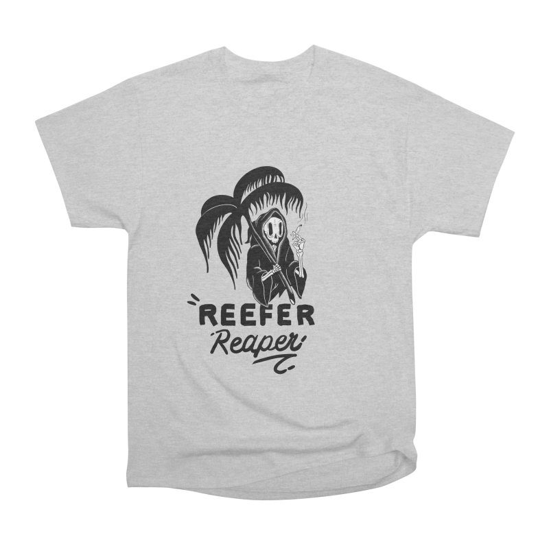 Reefer Reaper Men's T-Shirt by the ezlaurent show