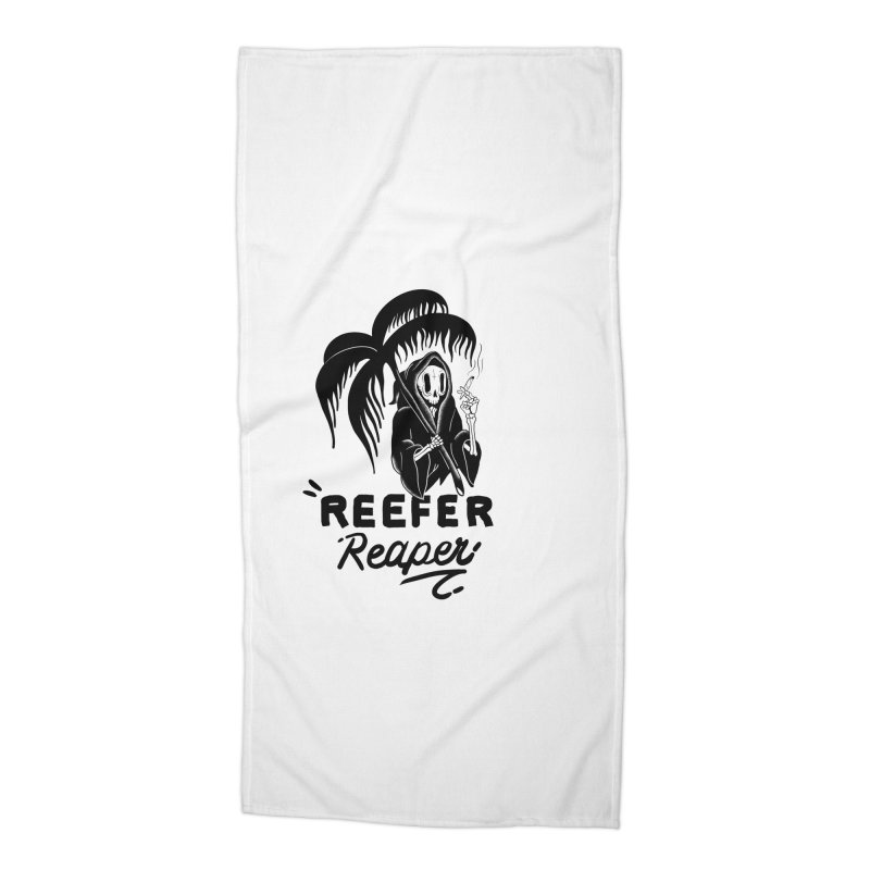 Reefer Reaper Accessories Beach Towel by the ezlaurent show