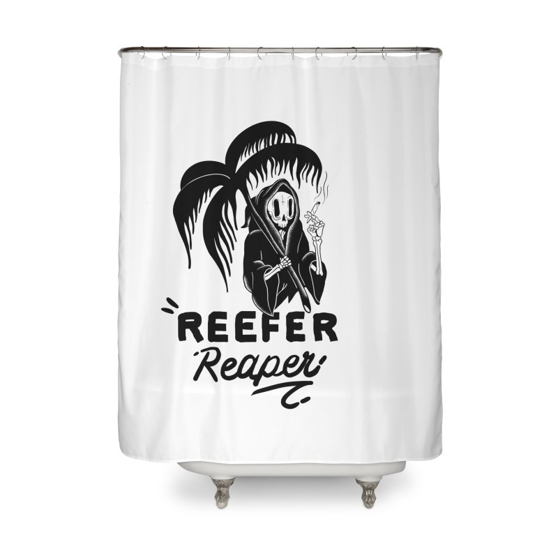 Reefer Reaper Home Shower Curtain by the ezlaurent show
