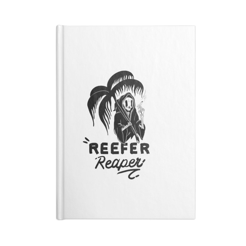 Reefer Reaper Accessories Blank Journal Notebook by the ezlaurent show