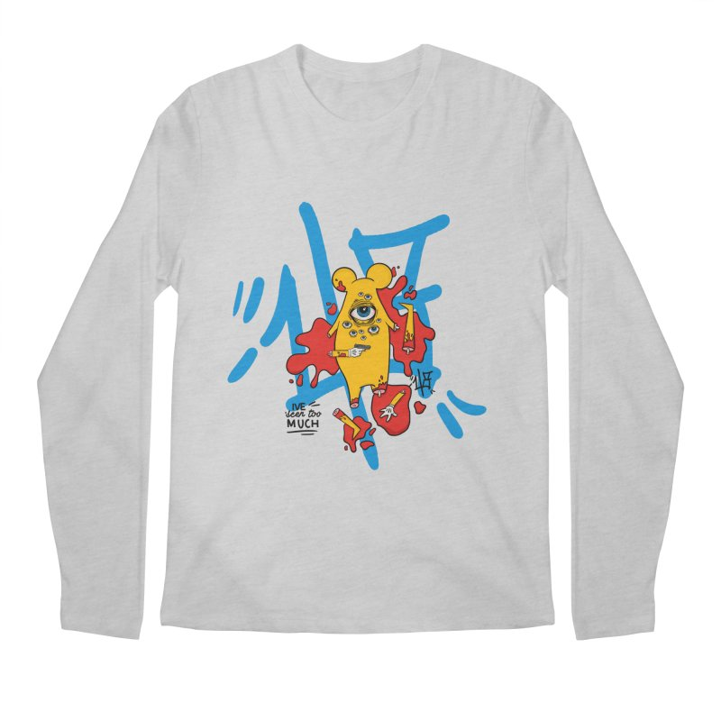 seen too much Men's Regular Longsleeve T-Shirt by the ezlaurent show