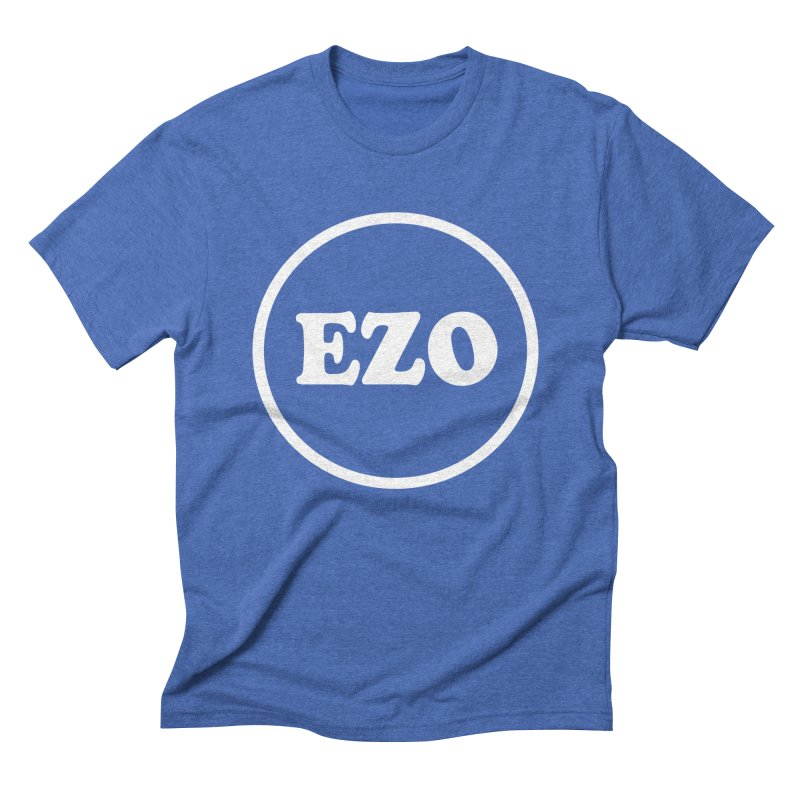 EZO circle Men's Triblend T-Shirt by ezo's Artist Shop