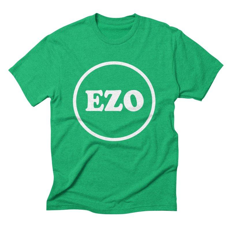 EZO circle Men's Triblend T-shirt by ezo's Artist Shop