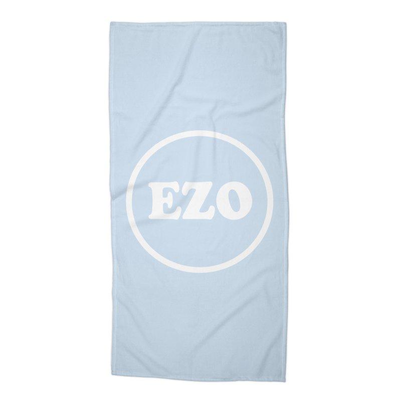 EZO circle Accessories Beach Towel by ezo's Artist Shop