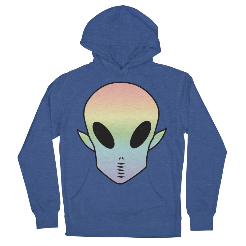 EZO ALIEN Women's French Terry Pullover Hoody by ezo's Artist Shop