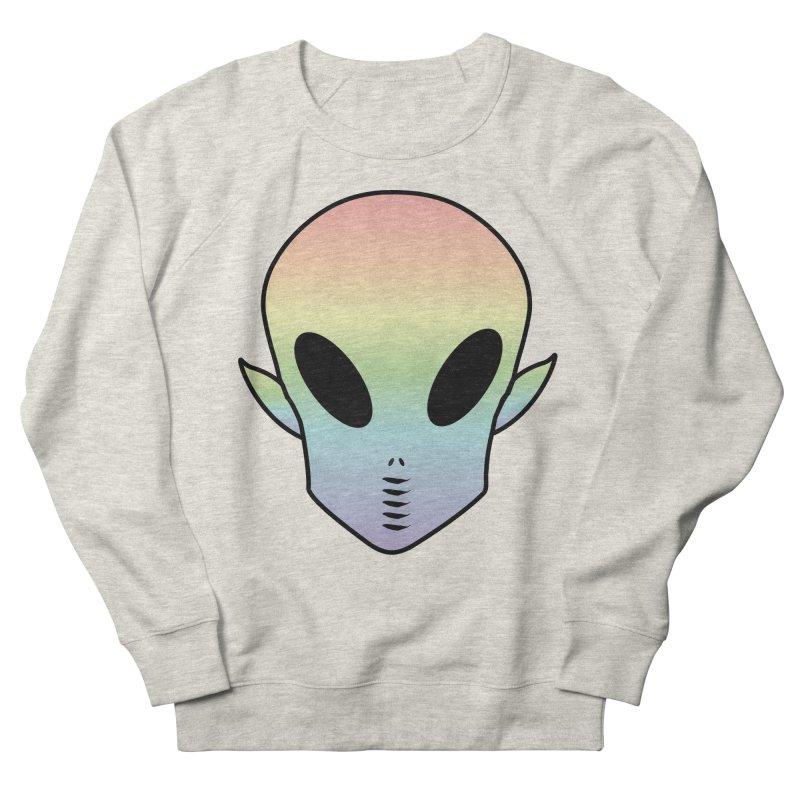 EZO ALIEN Men's French Terry Sweatshirt by ezo's Artist Shop