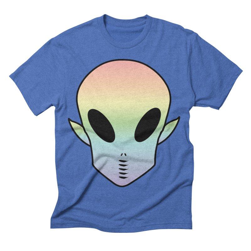 EZO ALIEN Men's Triblend T-shirt by ezo's Artist Shop
