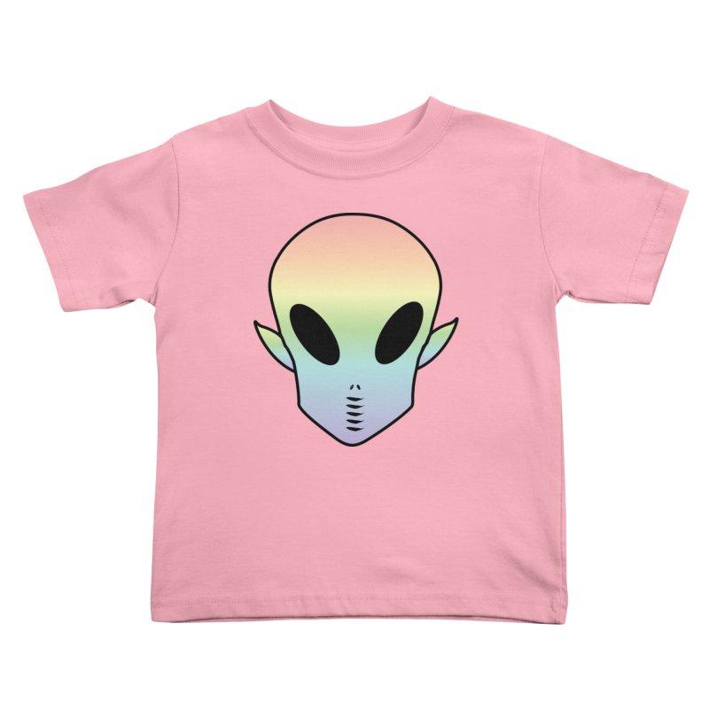 EZO ALIEN Kids Toddler T-Shirt by ezo's Artist Shop