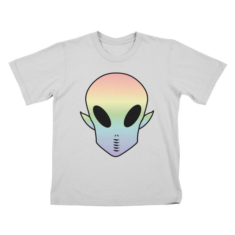 EZO ALIEN Kids T-Shirt by ezo's Artist Shop