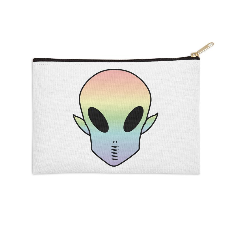 EZO ALIEN Accessories Zip Pouch by ezo's Artist Shop