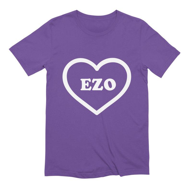 EZO HEART Men's Extra Soft T-Shirt by ezo's Artist Shop