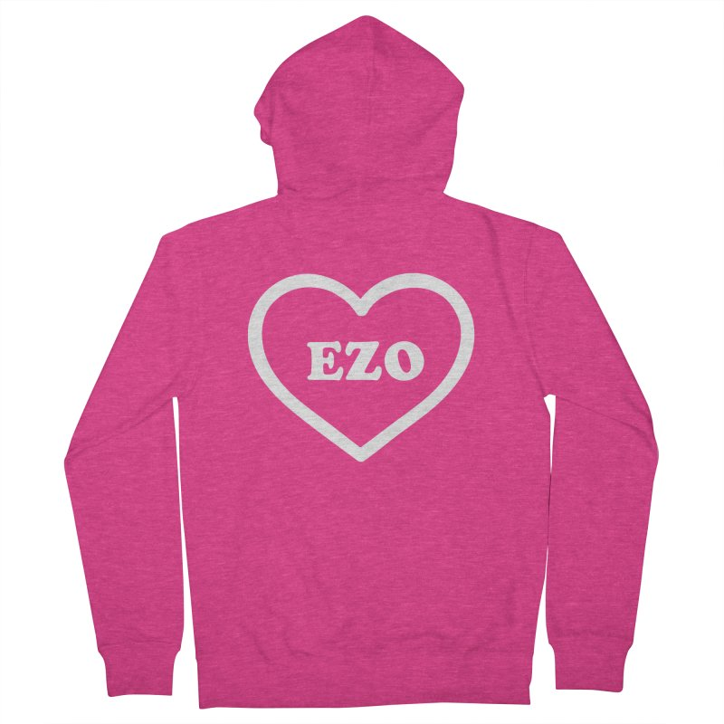 EZO HEART Women's Zip-Up Hoody by ezo's Artist Shop
