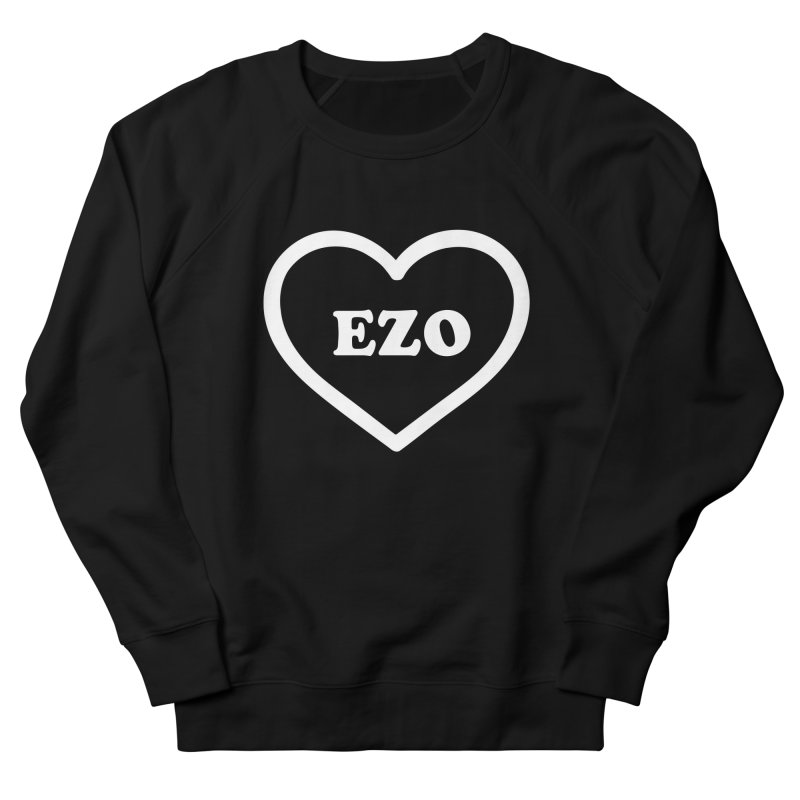 EZO HEART Women's French Terry Sweatshirt by ezo's Artist Shop