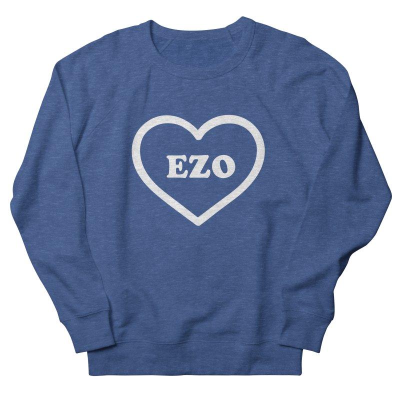 EZO HEART Men's French Terry Sweatshirt by ezo's Artist Shop