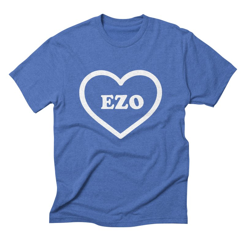 EZO HEART Men's Triblend T-Shirt by ezo's Artist Shop