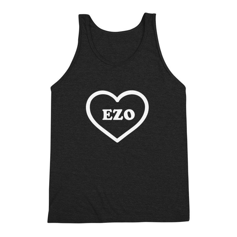 EZO HEART Men's Triblend Tank by ezo's Artist Shop
