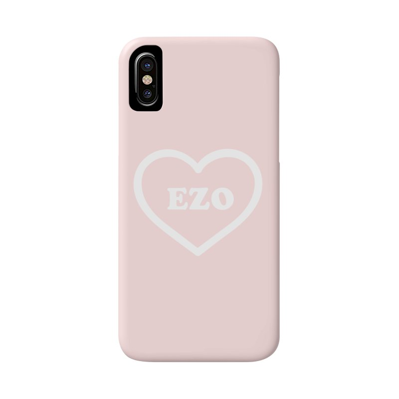 EZO HEART Accessories Phone Case by ezo's Artist Shop