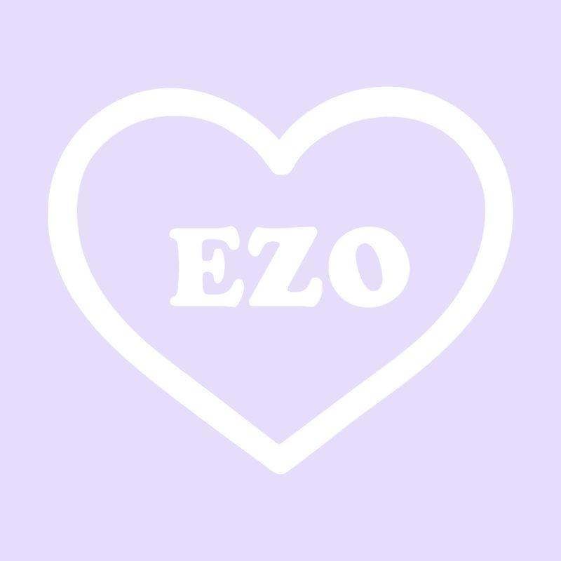 EZO HEART (pastel purple) by ezo's Artist Shop
