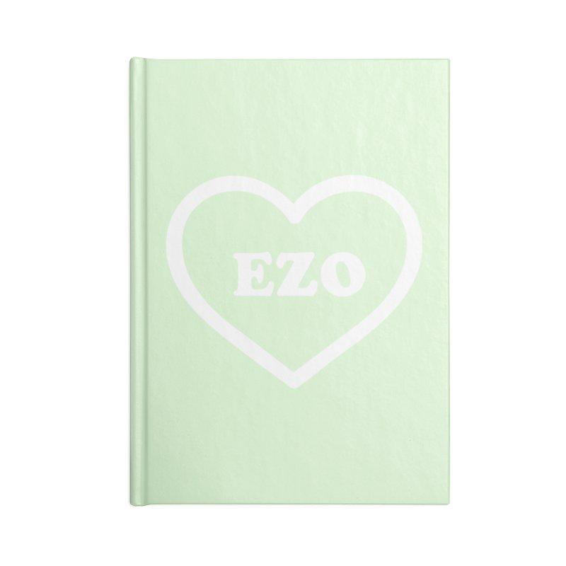 EZO HEART (pastel green) Accessories Notebook by ezo's Artist Shop