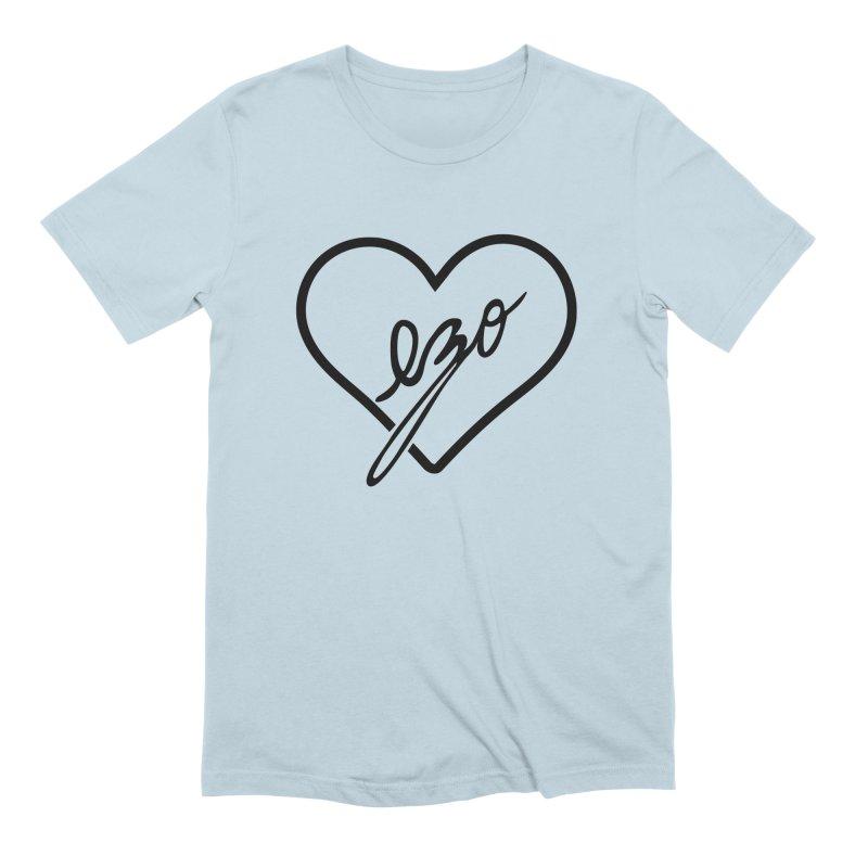 EZO LOVE Men's Extra Soft T-Shirt by ezo's Artist Shop