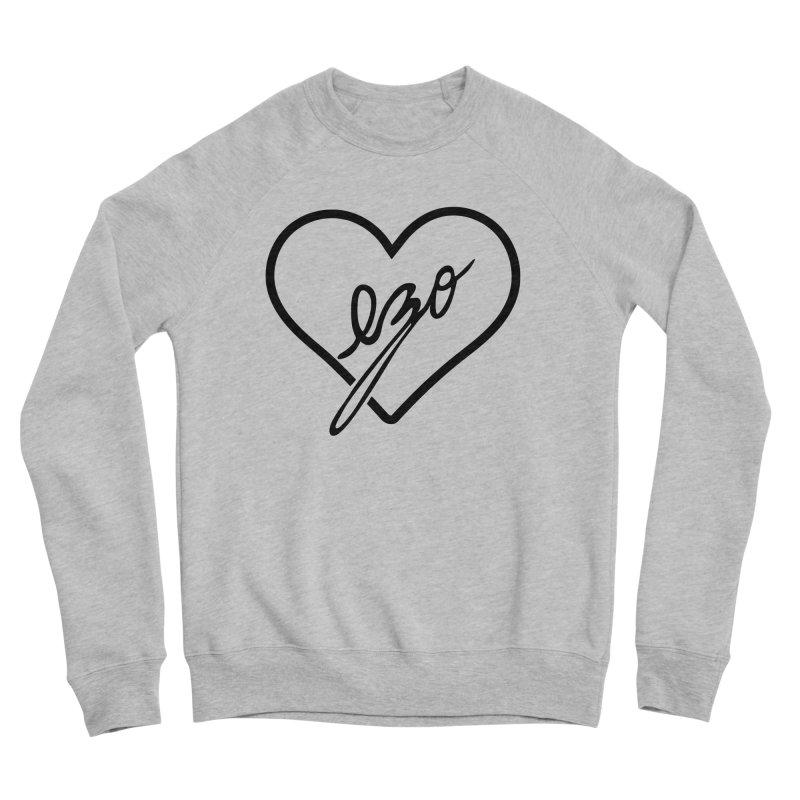 EZO LOVE Men's Sponge Fleece Sweatshirt by ezo's Artist Shop