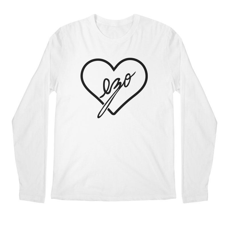 EZO LOVE Men's Regular Longsleeve T-Shirt by ezo's Artist Shop