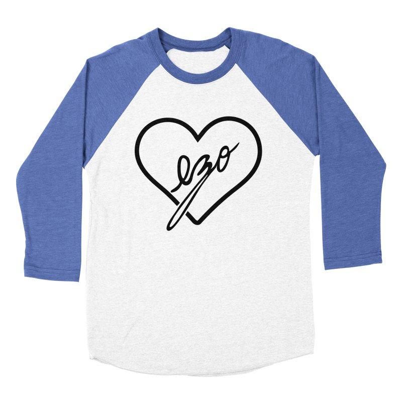 EZO LOVE Women's Baseball Triblend T-Shirt by ezo's Artist Shop