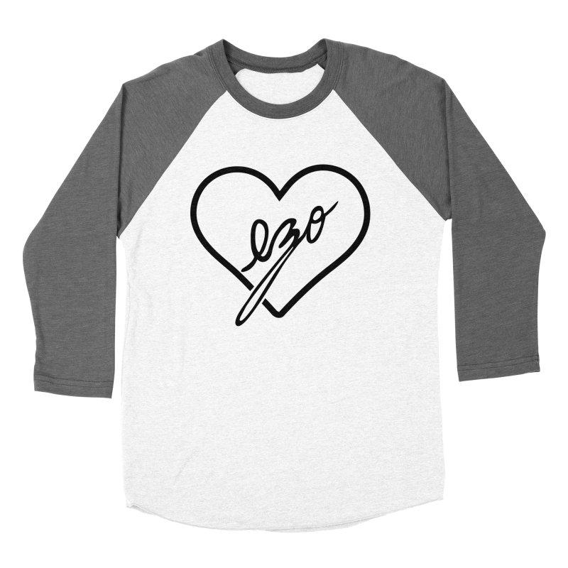EZO LOVE Men's Baseball Triblend Longsleeve T-Shirt by ezo's Artist Shop